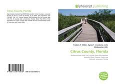 Bookcover of Citrus County, Florida