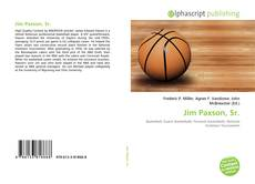 Bookcover of Jim Paxson, Sr.