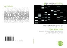 Copertina di Karl Paul Link