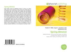 Bookcover of Spring (Device)