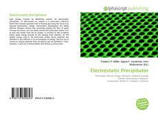Bookcover of Electrostatic Precipitator