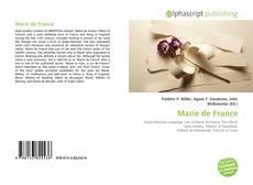 Copertina di Marie de France