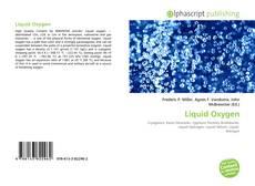 Bookcover of Liquid Oxygen