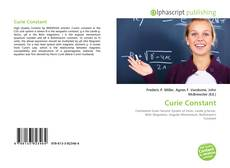 Bookcover of Curie Constant
