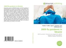 Обложка 2009 flu pandemic in Ukraine