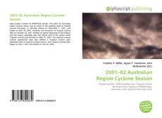 Bookcover of 2001–02 Australian Region Cyclone Season