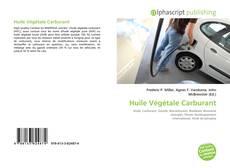 Bookcover of Huile Végétale Carburant