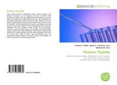 Couverture de Pasteur Pipette