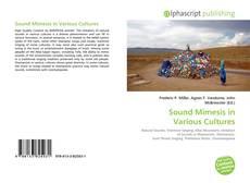 Borítókép a  Sound Mimesis in Various Cultures - hoz
