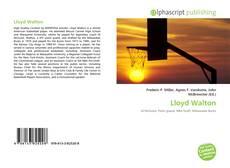 Portada del libro de Lloyd Walton