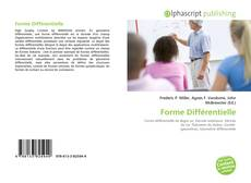 Bookcover of Forme Différentielle