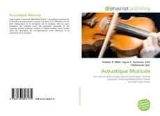 Обложка Acoustique Musicale