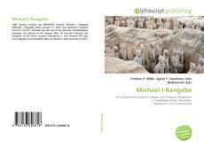 Bookcover of Michael I Rangabe