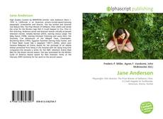 Bookcover of Jane Anderson
