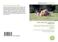 Обложка Animal Liberation Press Office
