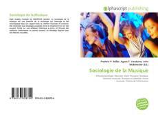 Portada del libro de Sociologie de la Musique