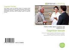Bookcover of Cognition Sociale