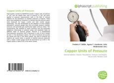 Bookcover of Copper Units of Pressure
