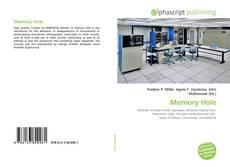 Buchcover von Memory Hole