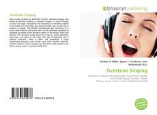 Bookcover of Overtone Singing