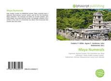 Buchcover von Maya Numerals