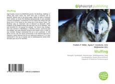 Bookcover of Wulfing