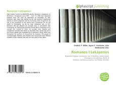 Bookcover of Romanos I Lekapenos