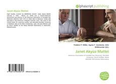 Janet Akyüz Mattei kitap kapağı