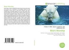 Bookcover of Bears Worship