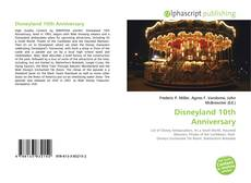 Обложка Disneyland 10th Anniversary