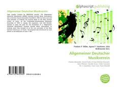 Capa do livro de Allgemeiner Deutscher Musikverein