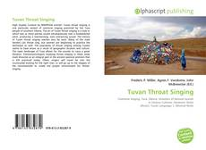 Tuvan Throat Singing的封面