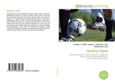 Bookcover of Andres Oper