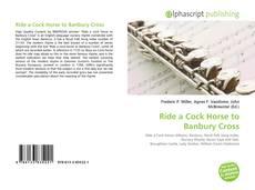 Capa do livro de Ride a Cock Horse to Banbury Cross