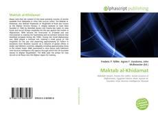 Bookcover of Maktab al-Khidamat