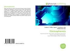 Electrophoresis kitap kapağı