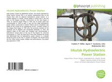 Bookcover of Irkutsk Hydroelectric Power Station