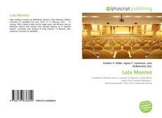 Lola Montez kitap kapağı