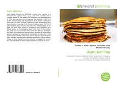 Bookcover of Aunt Jemima