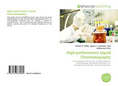 Bookcover of High-performance Liquid Chromatography
