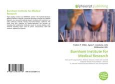 Buchcover von Burnham Institute for Medical Research