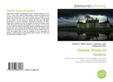 Portada del libro de Charles, Prince of Soubise