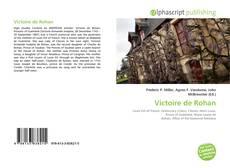 Couverture de Victoire de Rohan