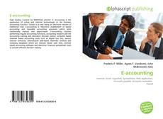 Bookcover of E-accounting