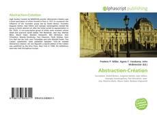 Couverture de Abstraction-Création