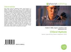 Bookcover of Chloral Hydrate