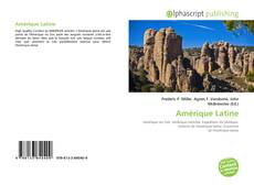 Bookcover of Amérique Latine
