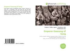 Bookcover of Emperor Gaozong of Song