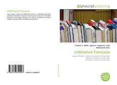 Couverture de Littérature Française