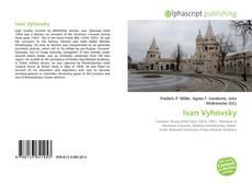Capa do livro de Ivan Vyhovsky